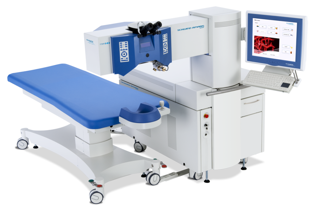 Laser najnowszej generacji Amaris – Laserowa korekcja wzroku